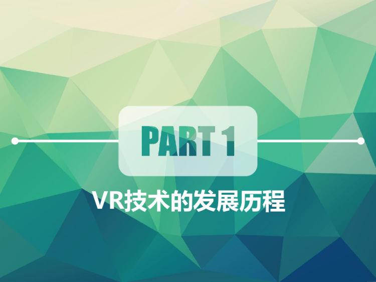 自制虚拟现实VR眼镜发展历程与原理PPT