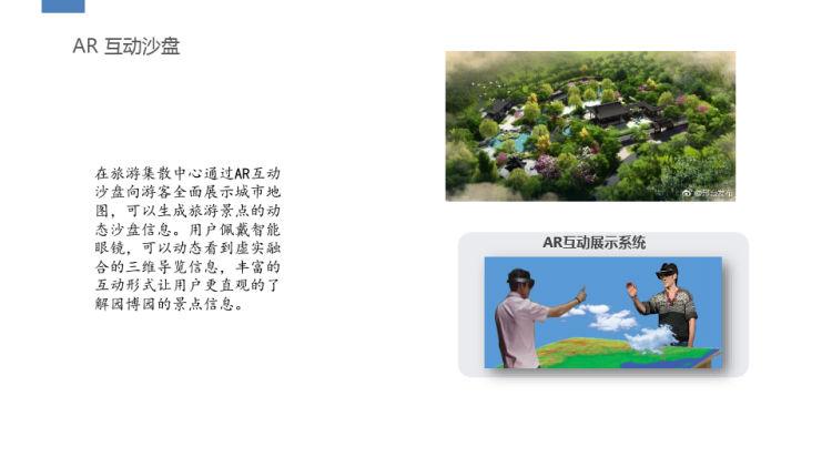 AR智慧旅游方案PPT