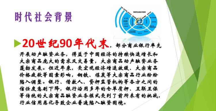 物联网金融系统方案设计PPT