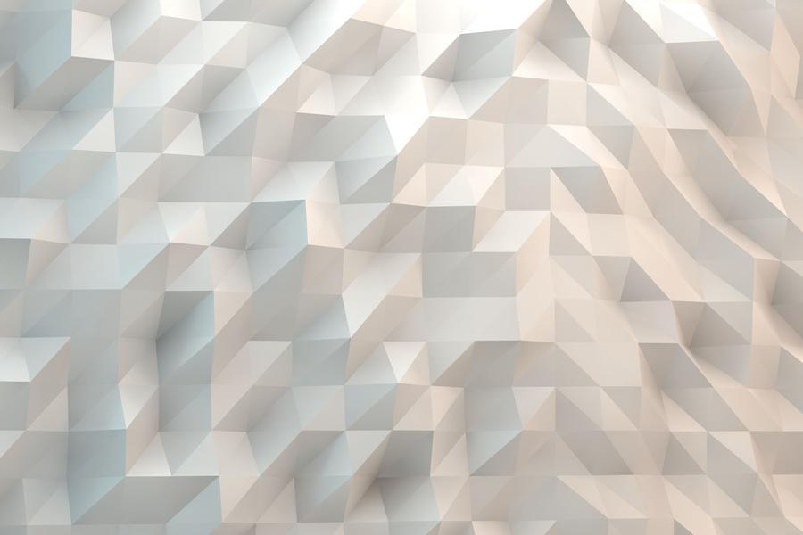 白色多边形PPT背景图片