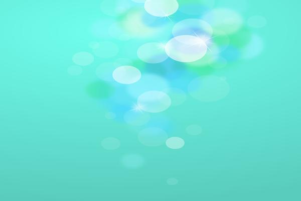绿色背景精致光晕星光PPT背景图片