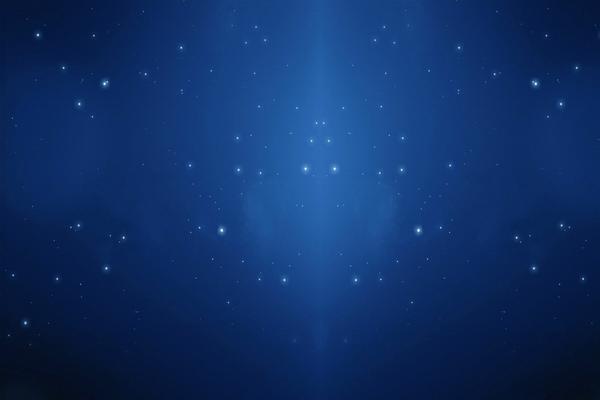 蓝色网状微小白色晶格背景PPT背景图片