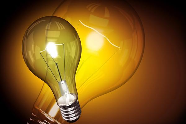电灯泡PowerPoint背景图片