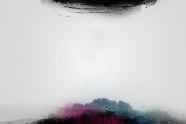 三张水墨中国风幻灯片背景图片