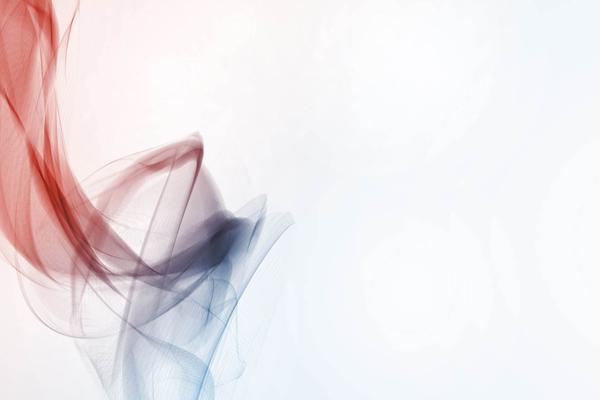 三张抽象柔美烟雾PPT背景图片