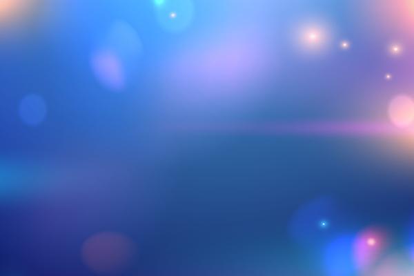 蓝色模糊iOS风格PPT背景图片