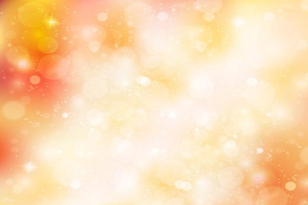 橙色圆点光斑PPT背景图片