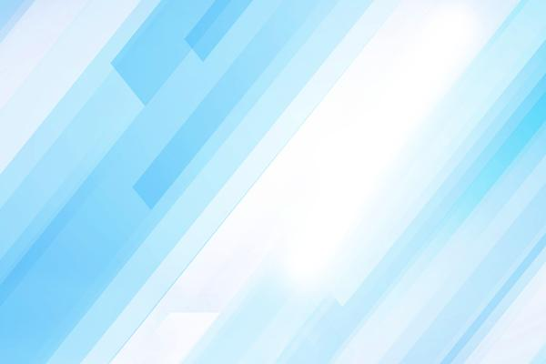 简洁蓝色彩条PPT背景图片