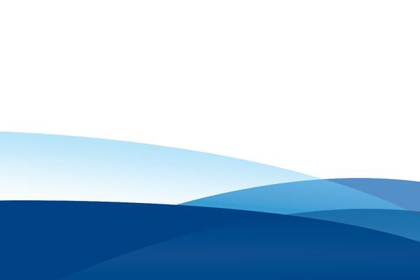 蓝色简洁曲线PowerPoint背景图片