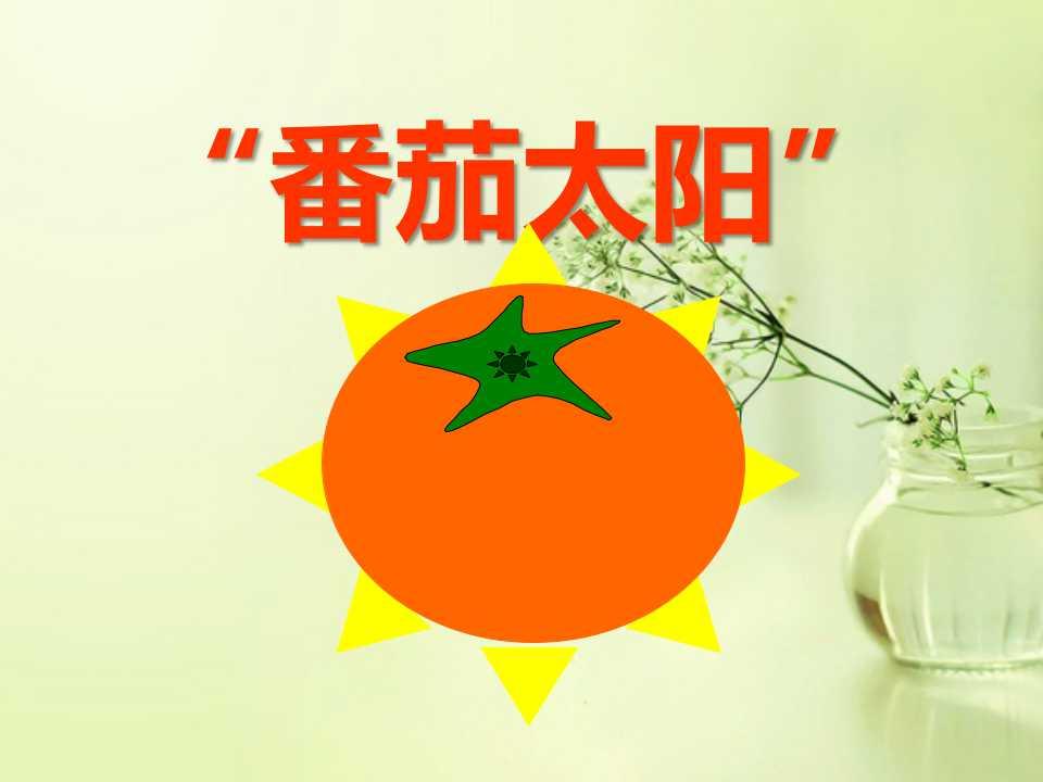 《番茄太阳》PPT课件3