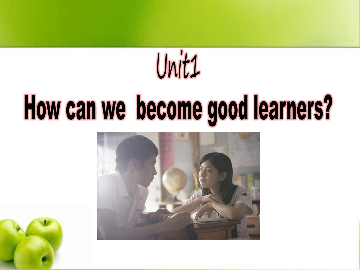 《How can we become good learners?》PPT课件2