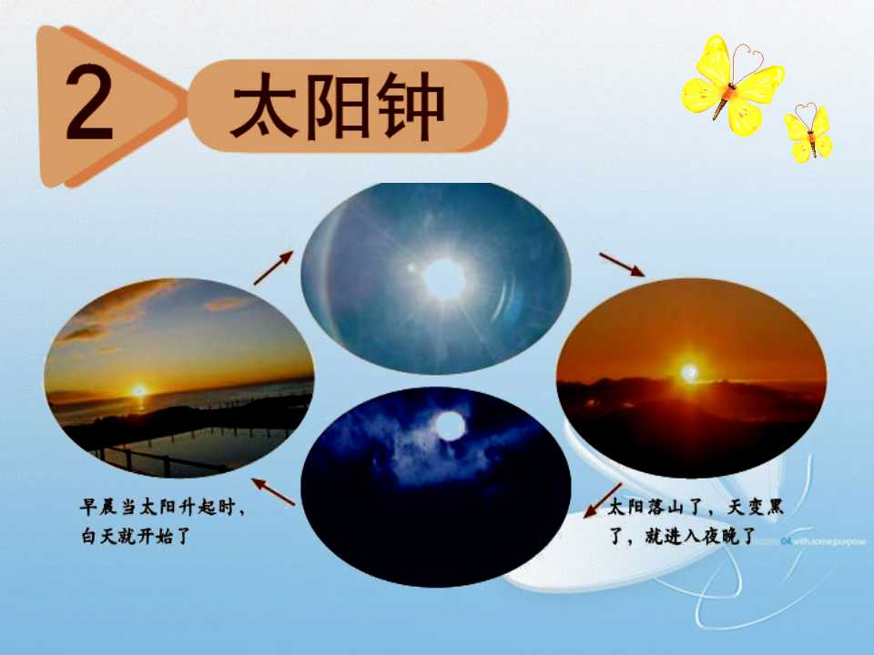 《太阳钟》时间的测量PPT课件