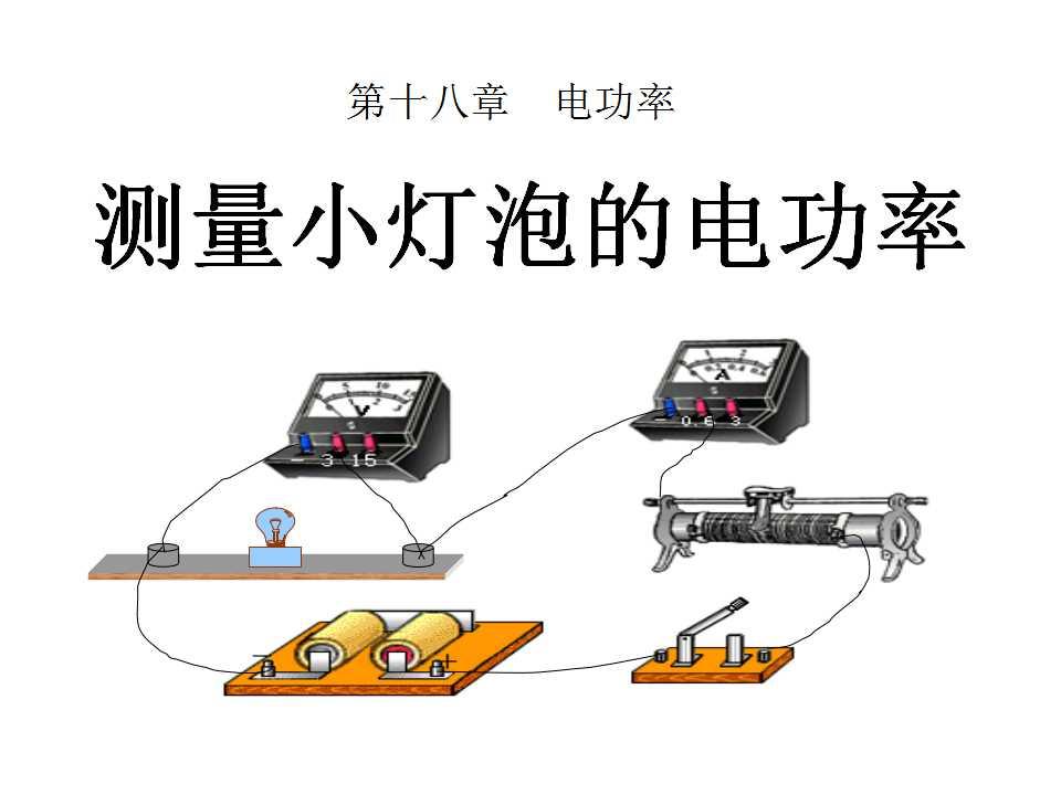 《测量小灯泡的电功率》电功率PPT课件5