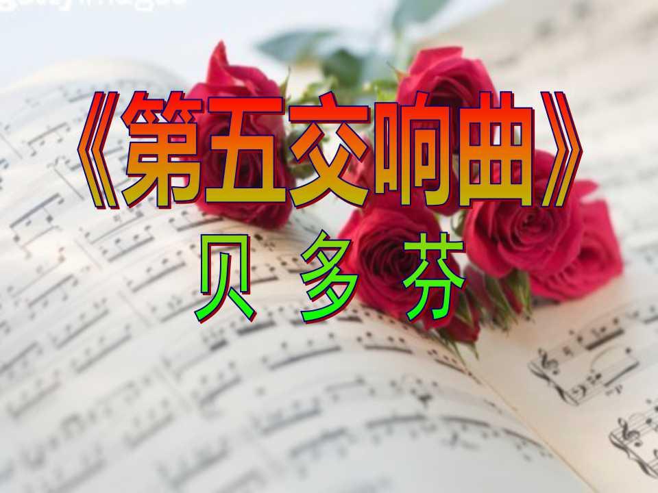 《第五交响曲》PPT课件2