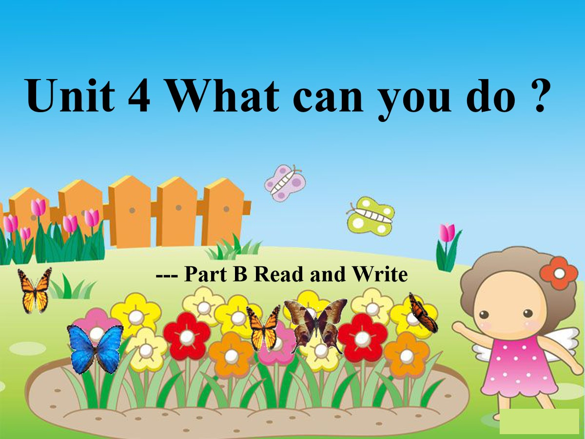 《What can you do?》PPT课件10