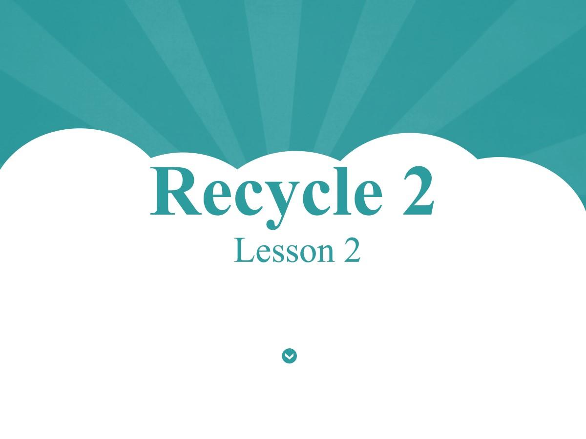 人教版PEP六年级英语上册《recycle2》PPT课件2