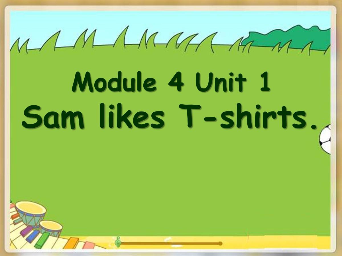 《Sam like T-shirts》PPT课件5