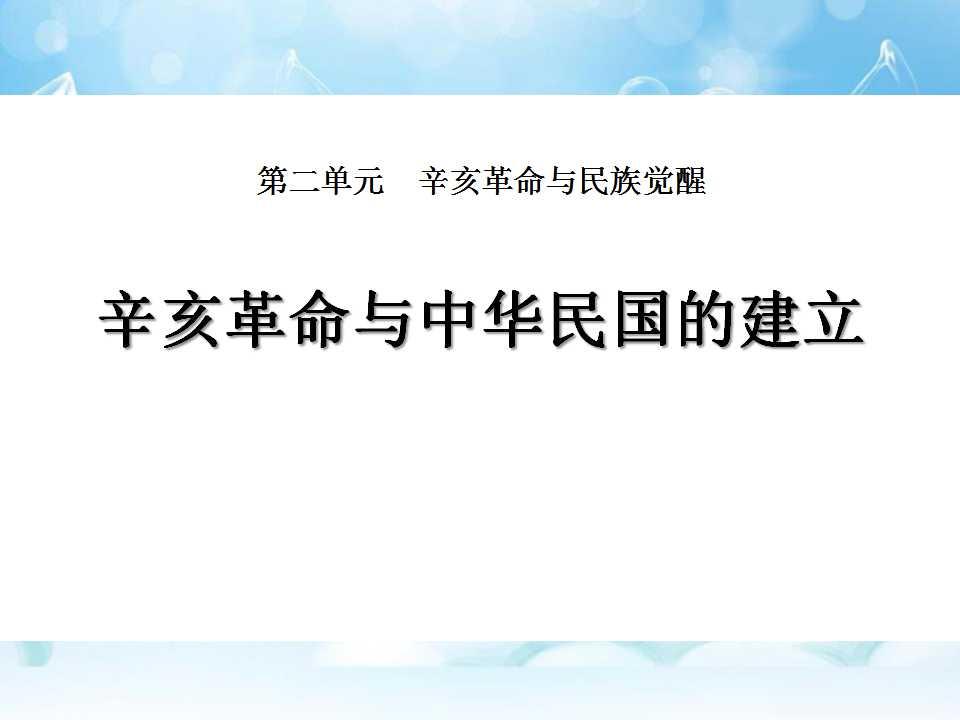 《辛亥革命与中华民国的建立》辛亥革命与民族觉醒PPT课件3
