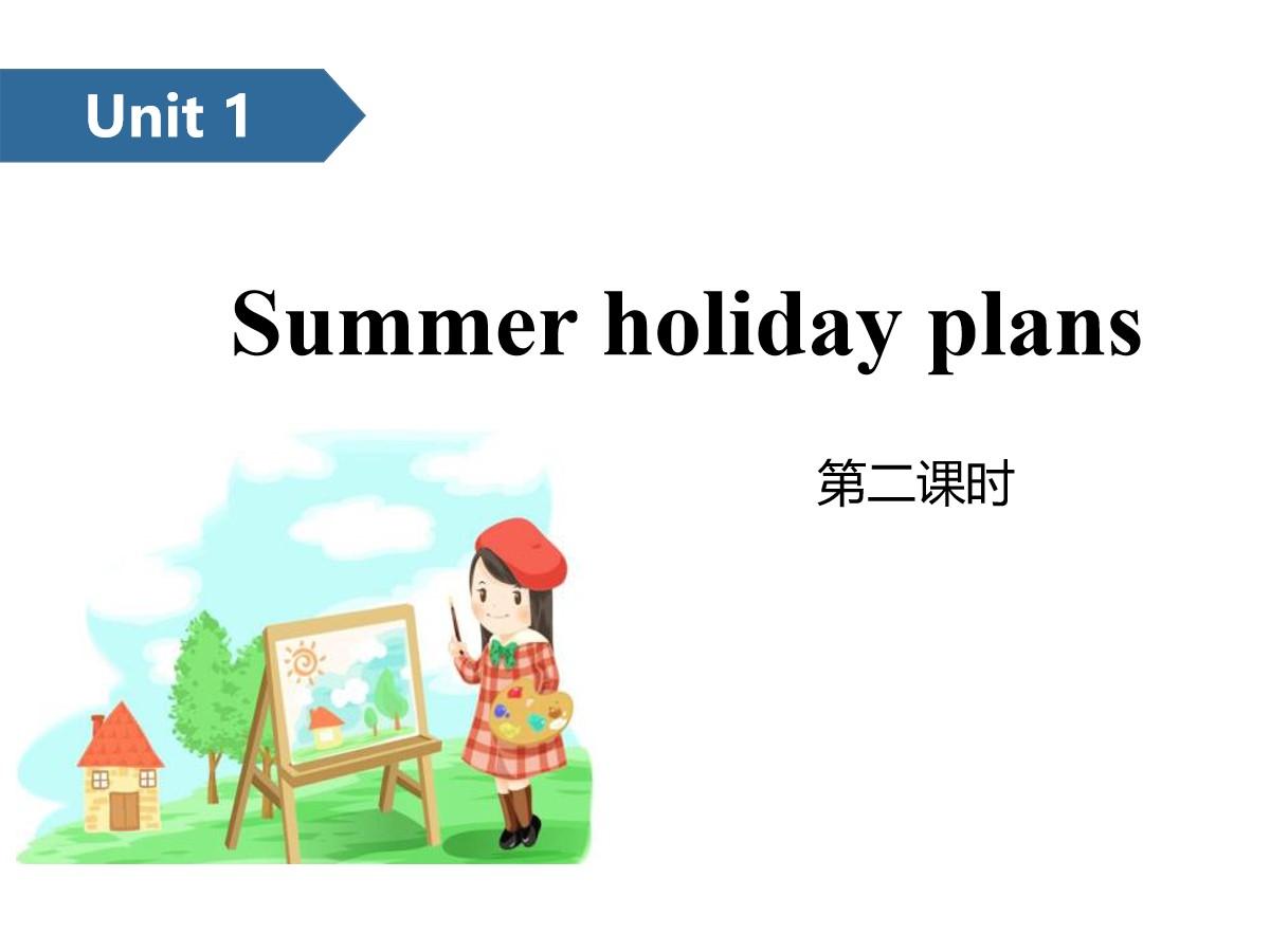 《Summer holiday plans》PPT(第二课时)