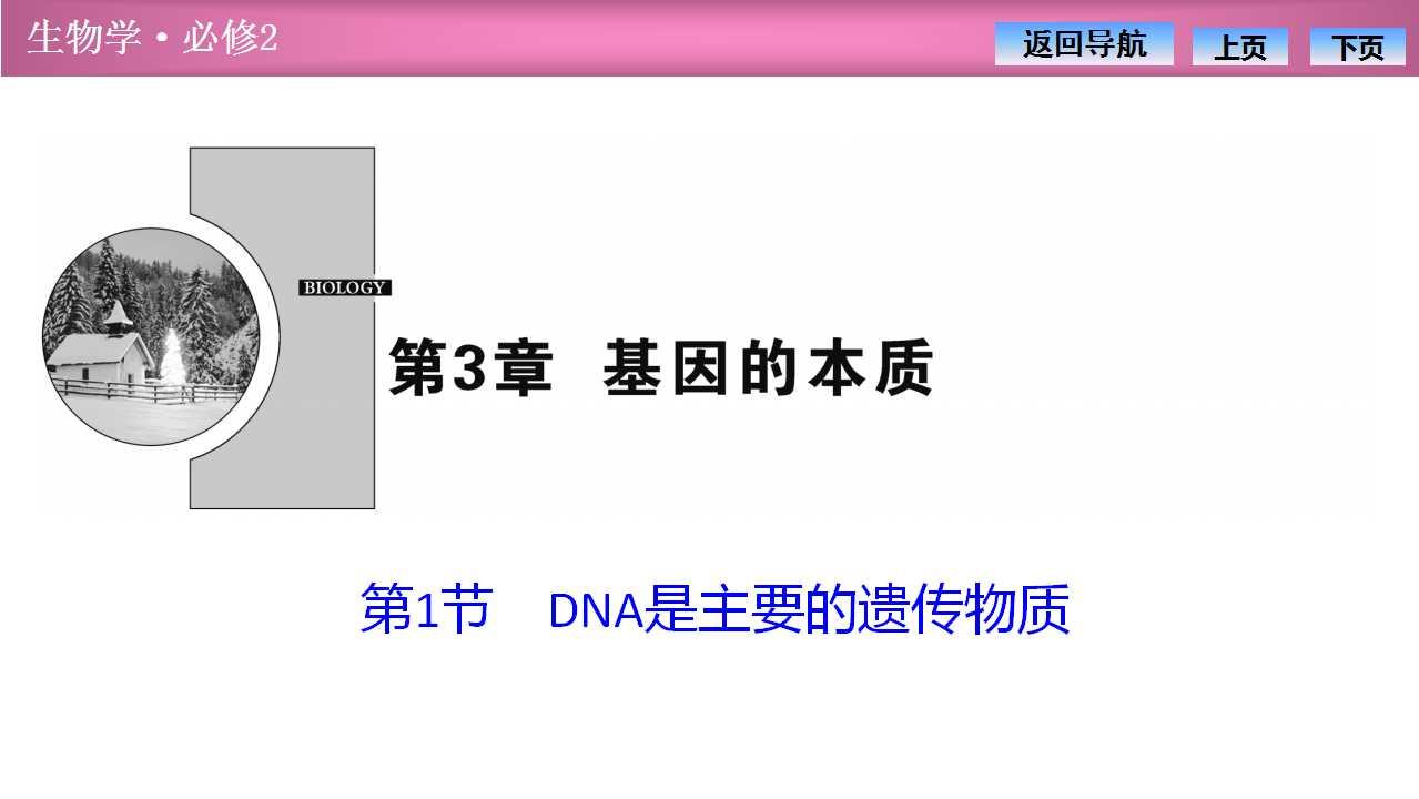 《DNA是主要的遗传物质》基因的本质PPT课件
