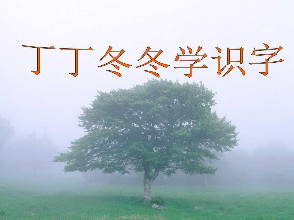 《丁丁冬冬学识字》PPT课件3