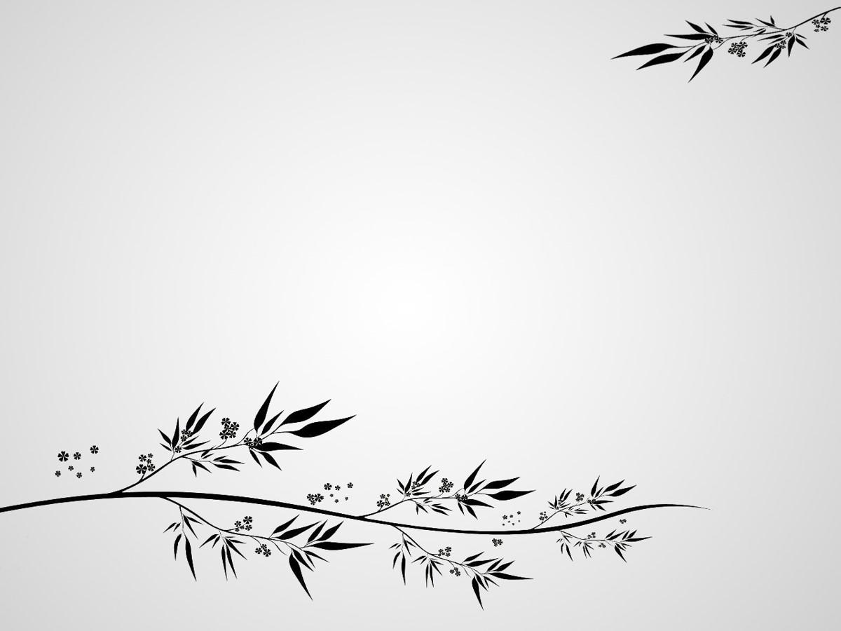 古典花纹背景PPT模板 古典风格PPT背景图片