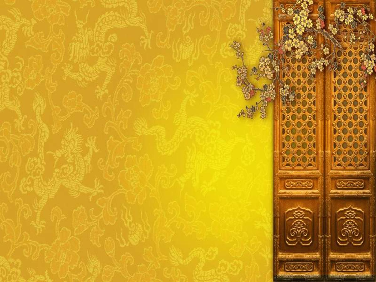 富贵古典的中国风PPT模板