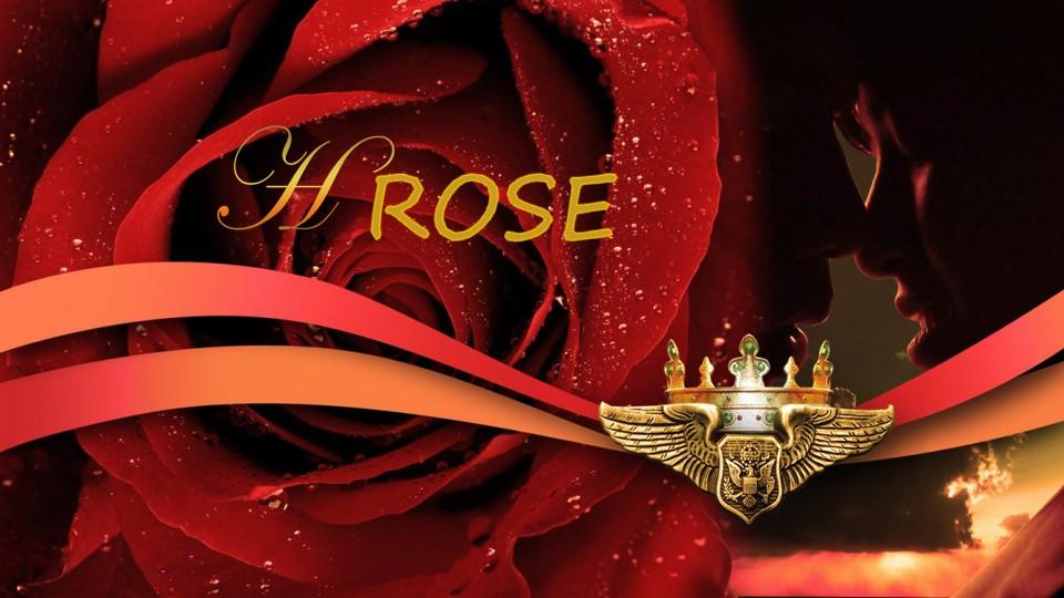 玫瑰大图浪漫情人节PPT模板