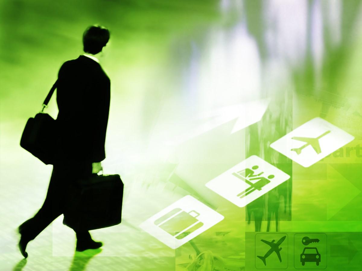 商务旅行PPT模板