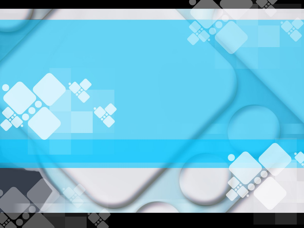 蓝色搭配黑色的科技PPT模板