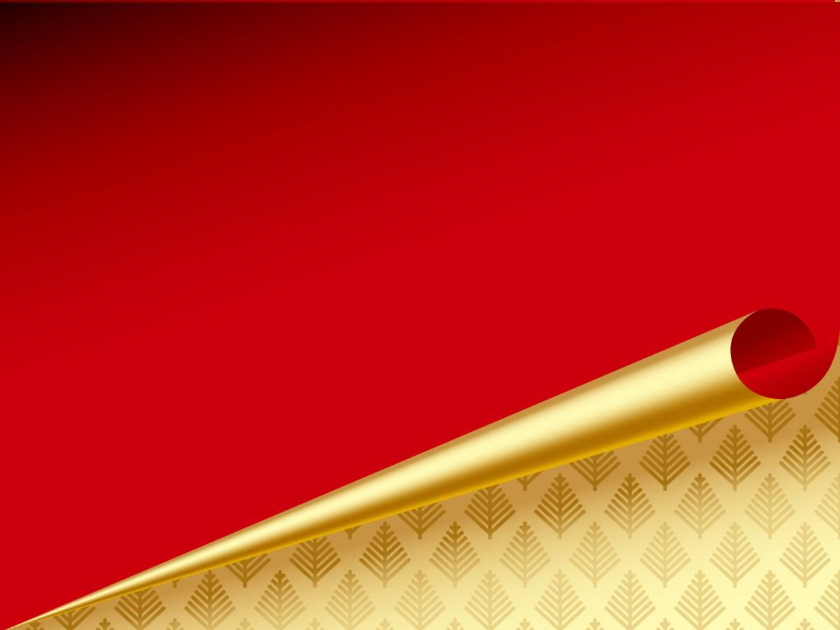 动态翻页精美通用PPT背景 红色简洁PPT模板