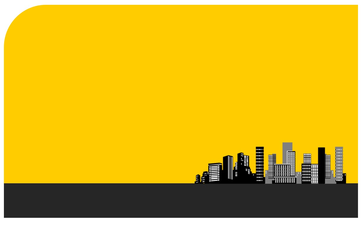 极简风建筑背景房地产行业PPT模板