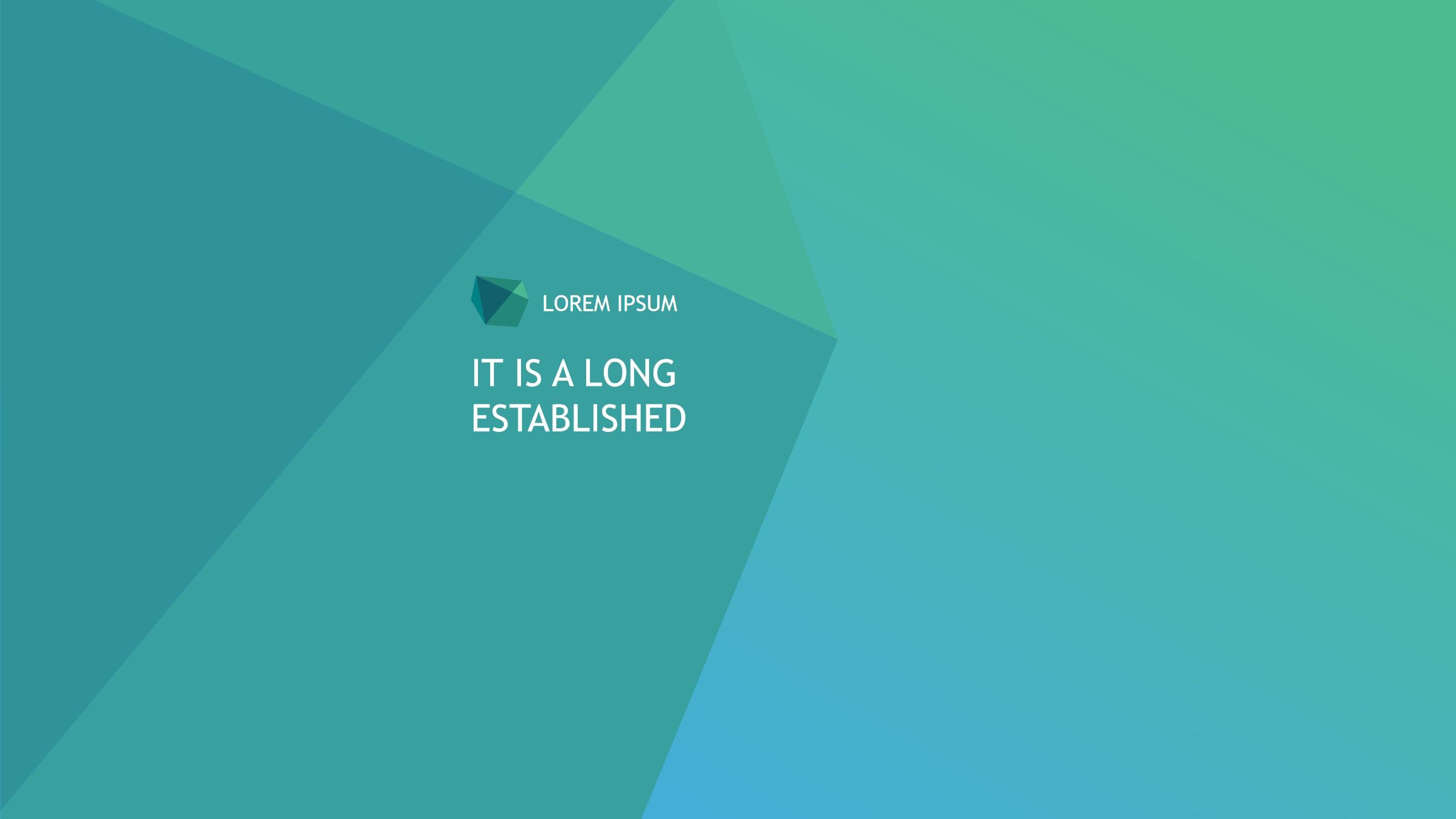 简洁IOS风格国外商务PPT模板
