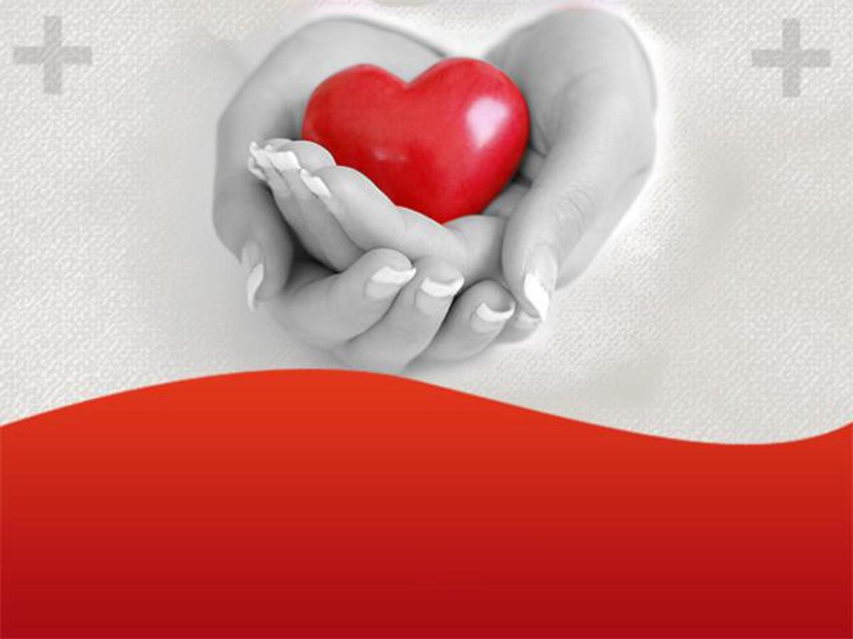 爱心医疗组织PPT模板