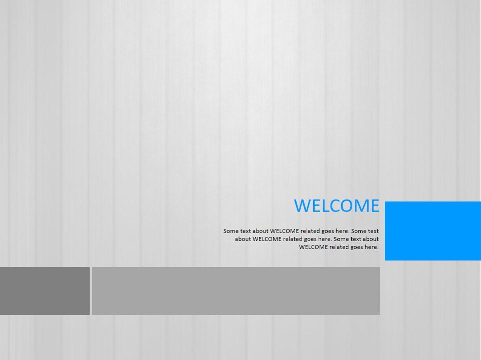 灰色win8风格商务PPT模板
