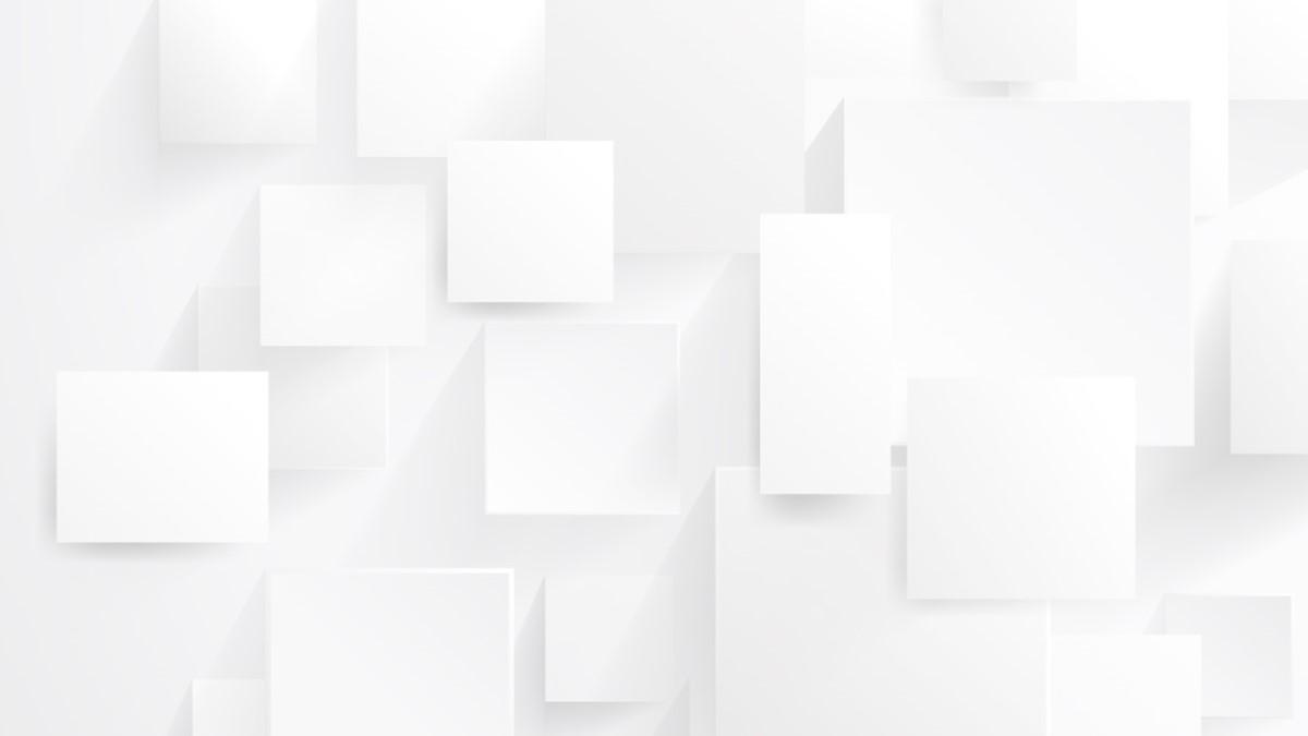 简洁白色悬浮PPT背景图片免费下载
