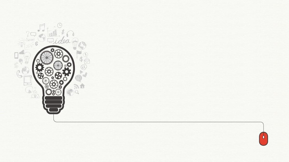 扁平化创意齿轮PPT背景图片