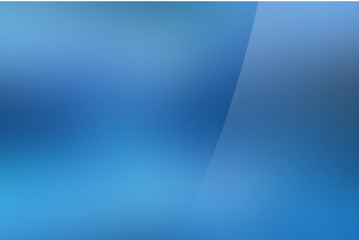 蓝色渐变纯色PowerPoint模板 简约简单PPT