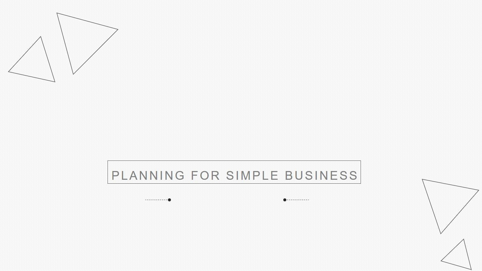 简洁蓝色扁平化通用工作计划PPT模板