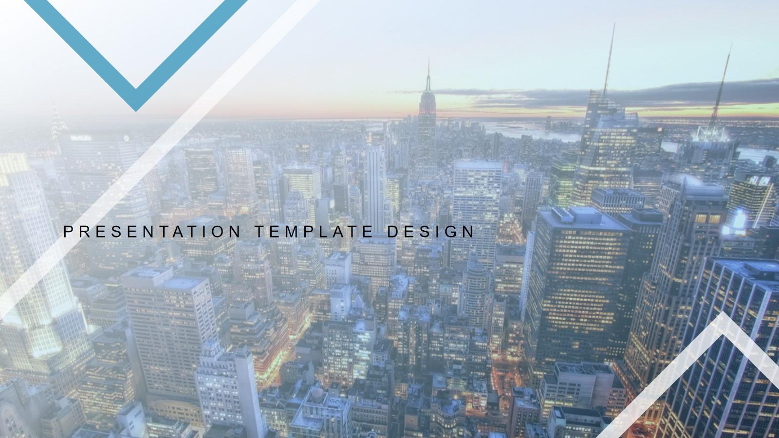 2020地产行业项目汇报PPT模板