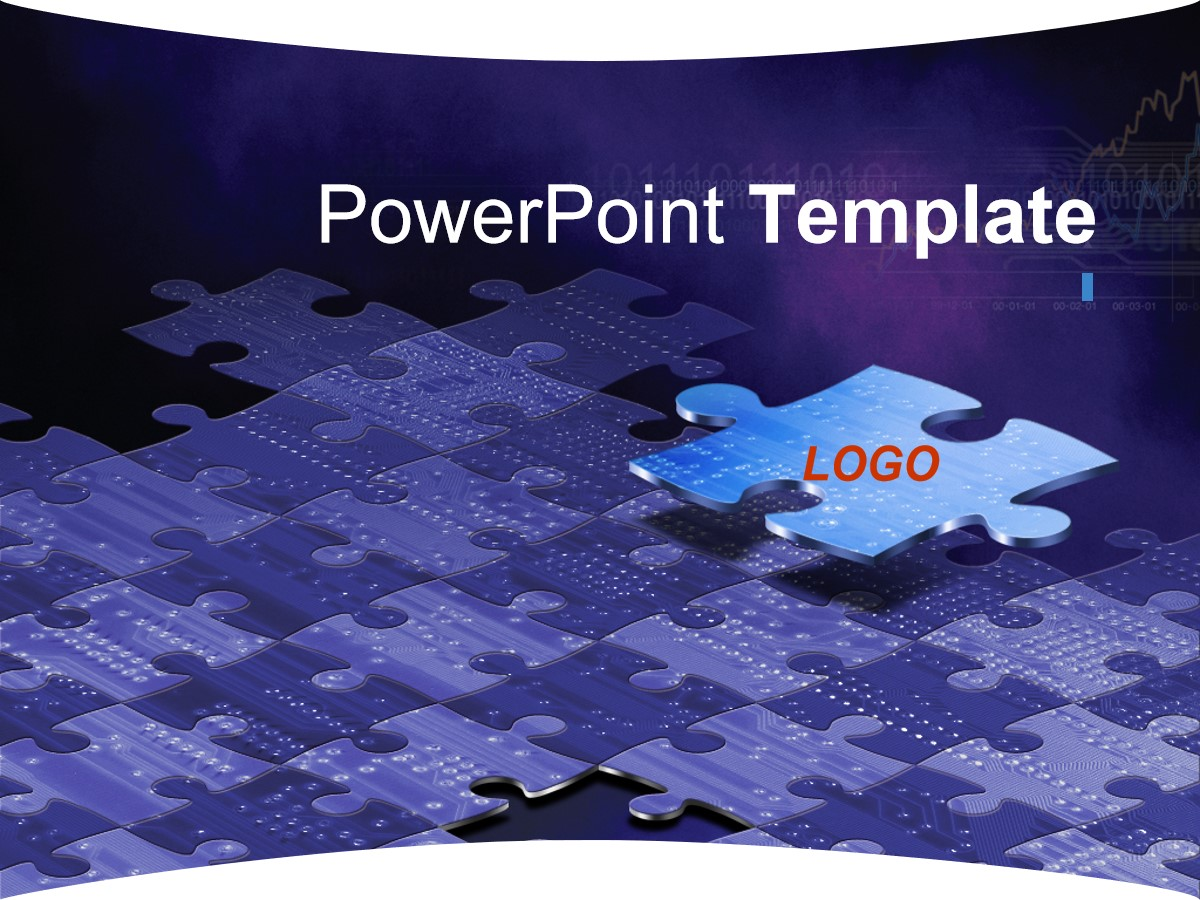 金属质感科技风格PPT模板 科技风格幻灯片模板