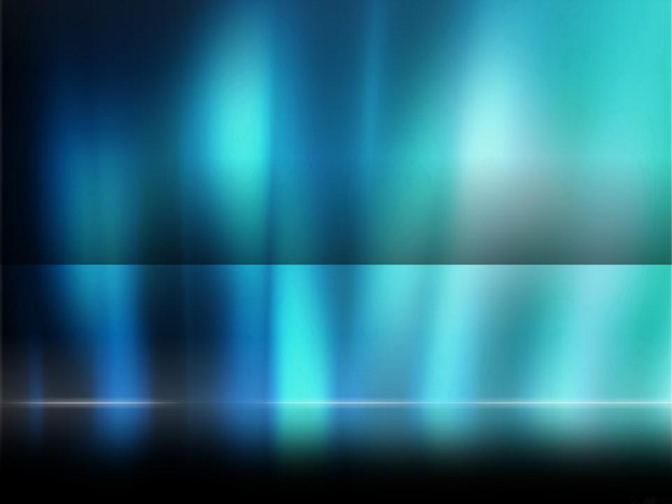 深蓝色幻彩PPT背景模板