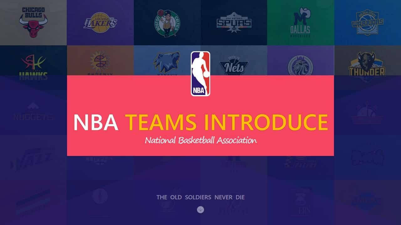 NBA篮球队球星介绍PPT模板